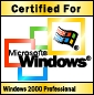 Certified for Microsoft Windows